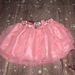 Dkny Bottoms - DKNY Pink Tulle Bow Tie Stretchy Tutu Skirt